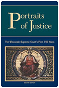 cover of 'Portaits of Justice' publication